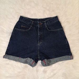 Riders vintage high waisted mom shorts